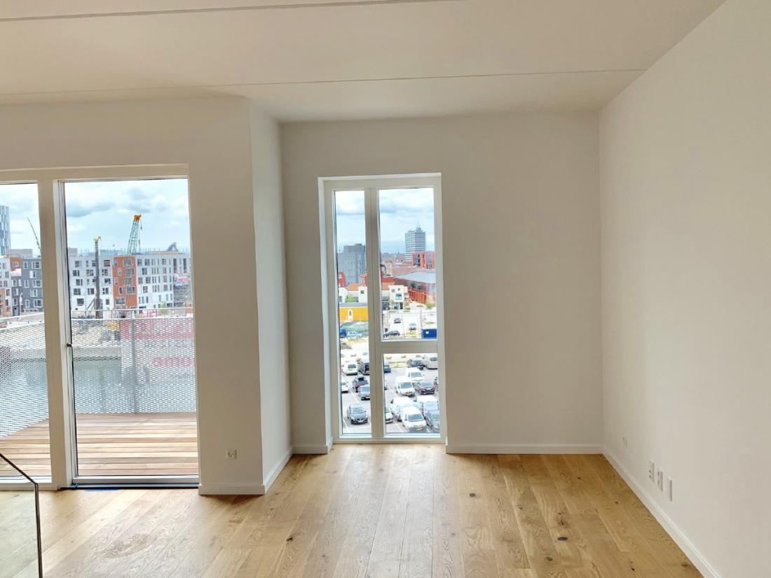 Leje lejelejlighed lejebolig nordhavn Sundkaj Nordhavnshuset udlejning