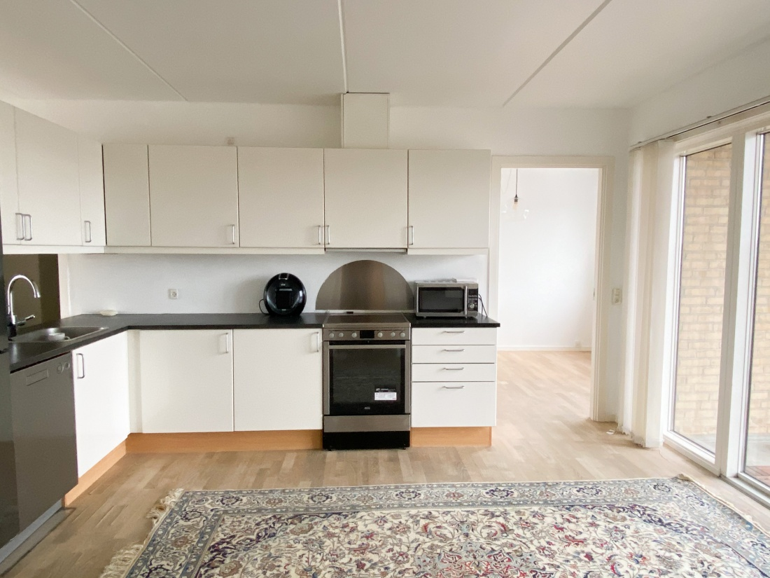 4V 3 soveværelser 2 altaner islands brygge kbh s Amager udsigt havnebassinet gårdhave p-kælder parkeringskælder elevator