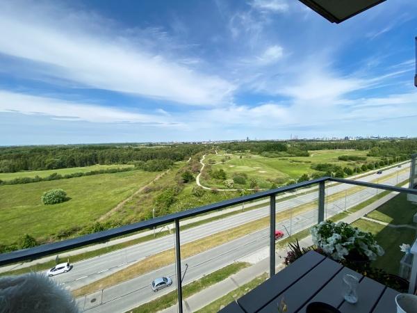 Amager Fælled leje lejelejlighed lejlighed Amager kbh s royal arena fields Bella center altan udsigt 3v 4v Edward thomsens vej