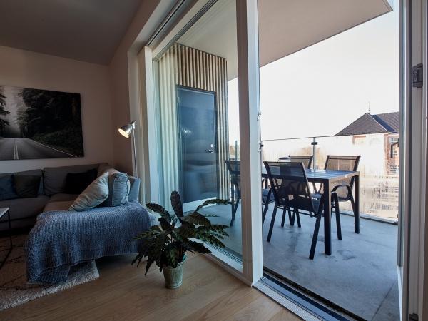 Vallensbæk strand leje lejlighed lejelejlighed altan bytorv 2v