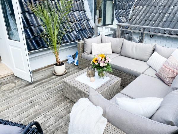Herlev villalejlighed lejlighed have terrasse 5V