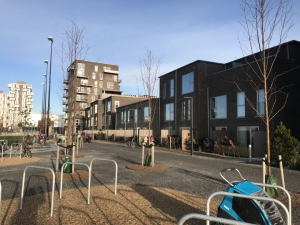 Leje rækkehus København familievenligt Kalvebod fælles skole Royal Arena Kalvebod Fælled lejebolig udlejning