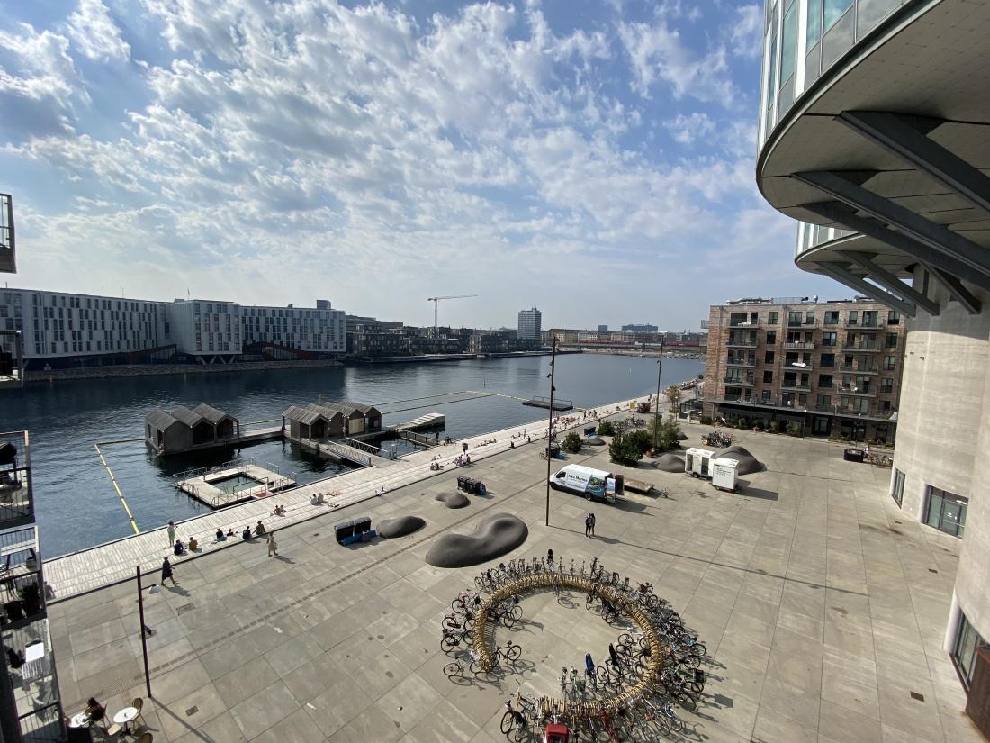 Apartment for rent Copenhagen one-bedroom FN city Lejlighed til leje København Nordhavn