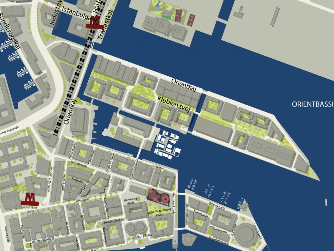 Nordhavn østerbro københavn leje lejlighed lejelejlighed bolig lejebolig århusgadekvarteret århusgade fortkaj sandkaj sundkaj langelinie nordsjælland 2v 1 room