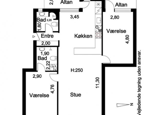 Artillerivej leje lejlighed lejelejlighed islands brygge altan elevator p-plads Amager fælled kolonihaver
